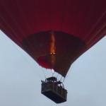 Virgin balloon over Peterborough