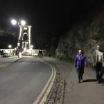 Mija and Jonathon on Clifton Suspension Bridge, Bristol
