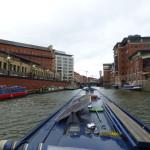 Entering Bristol Floating Harbour